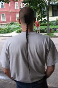 rats tail hair