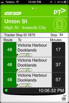 tram tracker app