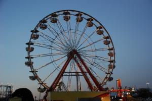 ferris wheel, carnival ride
